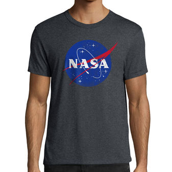 Hanes Men\'s NASA Meatball Graphic Tee GT49 Y07427
