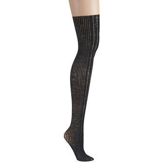 DKNY Variegated Rib-Knit Women\'s Over-the-Knee Socks 0C175