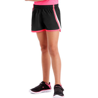 Hanes Sport Girls\' Woven Performance Training Shorts OK308