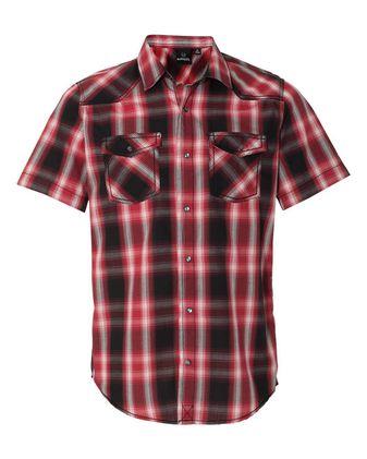 Burnside Short Sleeve Western Shirt 9206