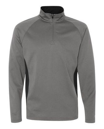 Champion Colorblocked Performance Quarter-Zip Sweatshirt S230