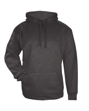 Badger Youth Line Embossed Hooded Sweatshirt 2431