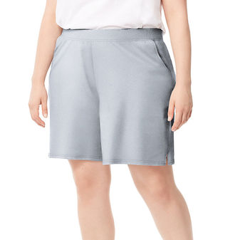 Just My Size Women\'s Plus-Size Cotton Jersey Pocket Shorts J345