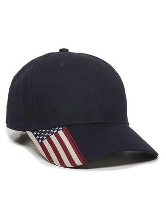 Outdoor Cap American Flag Cap USA300