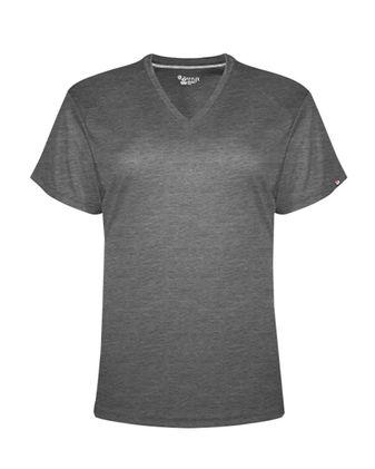Badger FitFlex Women\'s Performance V-Neck T-Shirt 1002