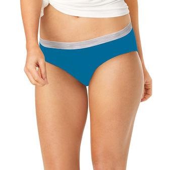 Hanes Sporty Women\'s Hipster Panties 6-Pack PP41SC