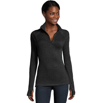Hanes Sport™ Women\'s Performance Fleece Quarter Zip Sweatshirt O9325