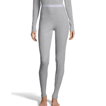 Hanes Women\'s Waffle Knit Thermal Pant 125602
