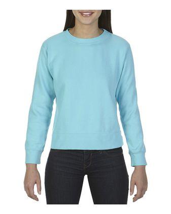 Comfort Colors Women\'s Garment-Dyed Sweatshirt 1596