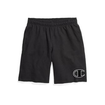 Champion Men\'s Powerblend Fleece Shorts, Big C Logo