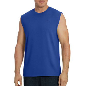 Champion Mens Classic Jersey Muscle Tee Shirt T0222