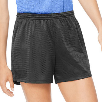 Hanes Sport Women\'s Mesh Shorts O9082