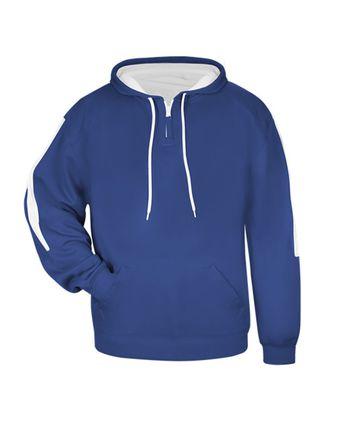 Badger Youth Sideline Fleece Hooded Sweatshirt 2456