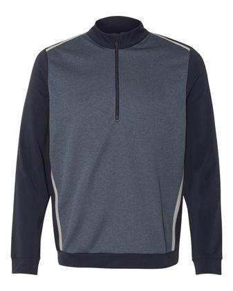 Adidas Quarter-Zip Birdseye Fleece Pullover A277