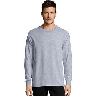 Hanes Men\'s TAGLESS® Comfortsoft® Long-Sleeve T-Shirt 5286