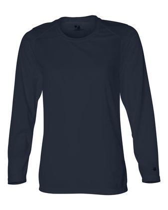 Badger Women\'s B-Core Long Sleeve T-Shirt 4164