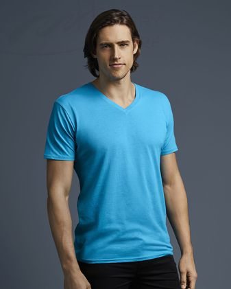 Anvil Featherweight V-Neck T-Shirt 352