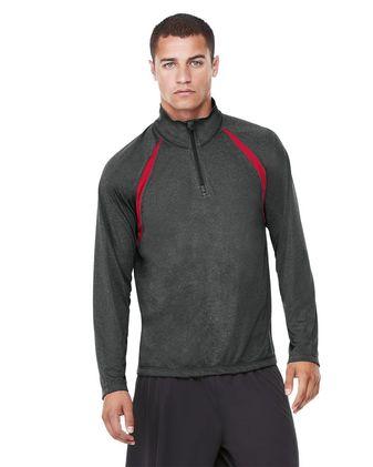 All Sport Quarter-Zip Lightweight Raglan Pullover M3026
