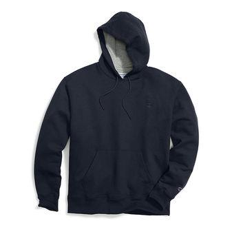 Champion Big & Tall Men\'s Pullover Fleece Hoodie with Contrast Liner