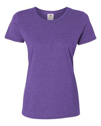 Fruit of the Loom HD Cotton Women\'s Short Sleeve T-Shirt L3930R