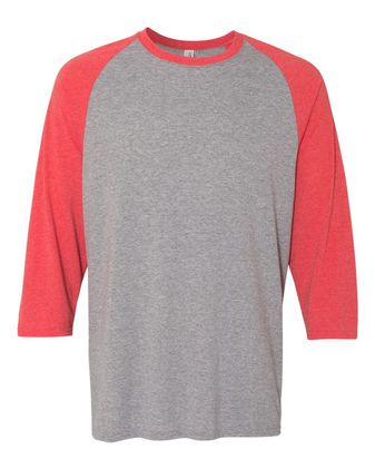 Jerzees Triblend Baseball Raglan T-Shirt 601RR