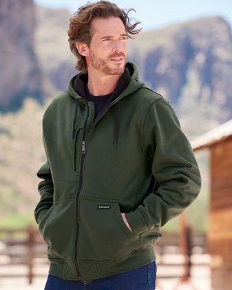 DRI DUCK Bateman Bonded Power Fleece 2. 0 Full-Zip Jacket 7040