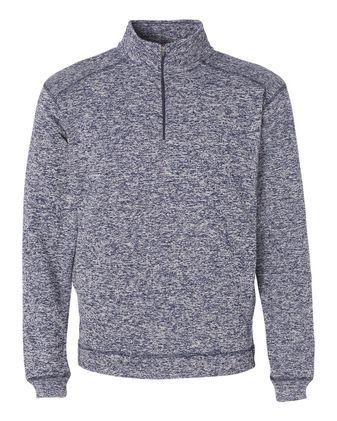 J. America Cosmic Fleece Quarter-Zip Sweatshirt 8614