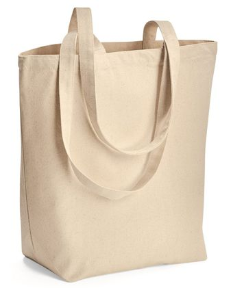 Liberty Bags Large Canvas Tote 8866