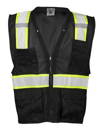 ML Kishigo Mesh Enhanced Visibility Multi-Pocket Vest B100-107
