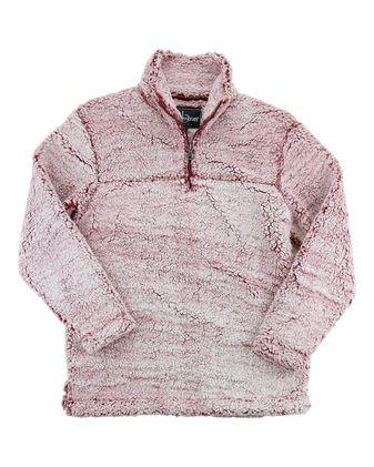 Boxercraft Youth Sherpa Quarter-Zip Pullover YQ10