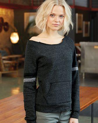 Alternative Women\'s Maniac Sport Eco-Fleece Sweatshirt 9583