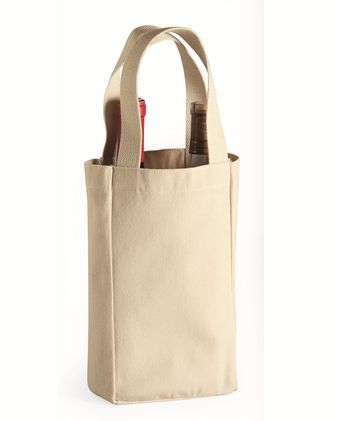 Liberty Bags Double Bottle Wine Tote 1726