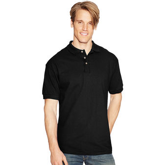 Hanes ComfortSoft Cotton Pique Mens Polo 055X