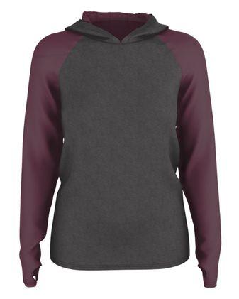 Badger Women\'s Gameday Hooded Pullover GH001W