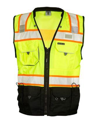 Kishigo Premium Black Series® Surveyors Vest S5002-5003