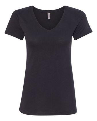 Next Level Women\'s Sueded Short Sleeve V 6480