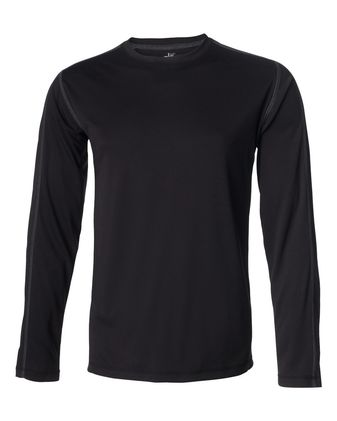 All Sport Long Sleeve Pieced Interlock T-Shirt M3021