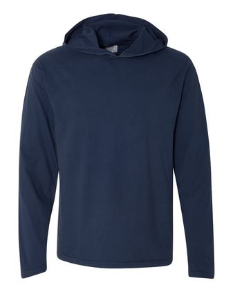 Comfort Colors Garment-Dyed Heavyweight Hooded Long Sleeve T-Shirt Sty# 4900