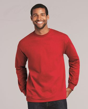 Gildan Ultra Cotton® Long Sleeve T-Shirt 2-PACK 2400