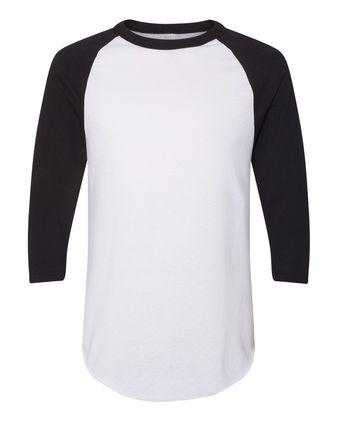 Augusta Sportswear Three-Quarter Raglan Sleeve Baseball Jersey 4420