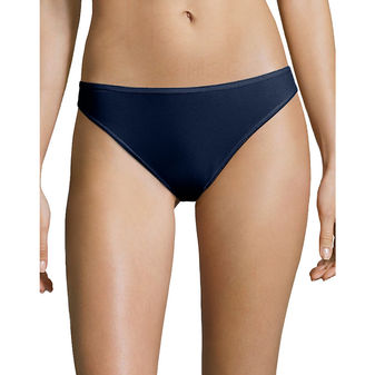 Hanes Cotton Stretch Thong 6-Pack EP46AS