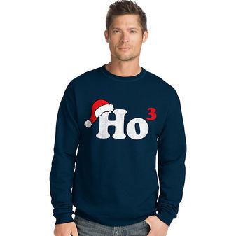 Hanes Men\'s Ugly Christmas Sweatshirt O5A11