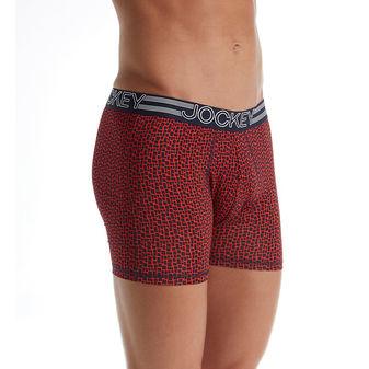Jockey Men\'s Underwear Active Microfiber Boxer Brief - 3 Pack 9021