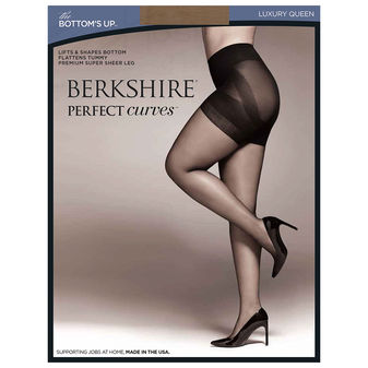 Berkshire Queen Perfect Curves Bottoms Up Pantyhose 5022