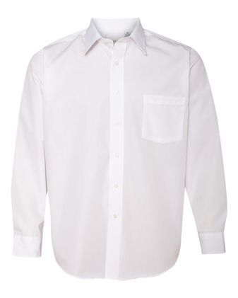 Van Heusen Broadcloth Long Sleeve Shirt 13V0214