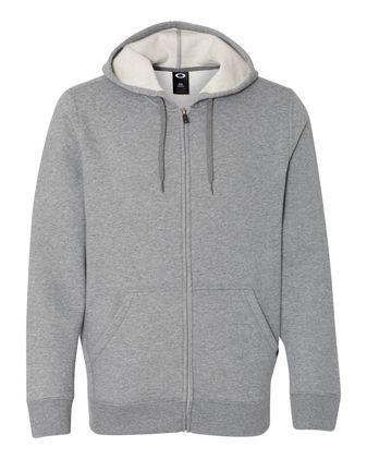 Oakley Cotton Blend Hooded Full-Zip Sweatshirt 472318ODM