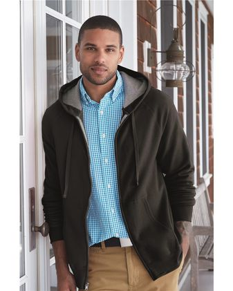 Hanes Nano Hooded Full-Zip Sweatshirt N280