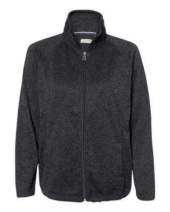Weatherproof Women\'s Vintage Sweaterfleece Full-Zip Sweatshirt W198013