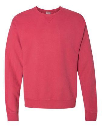 ComfortWash by Hanes Garment Dyed Unisex Crewneck Sweatshirt GDH400