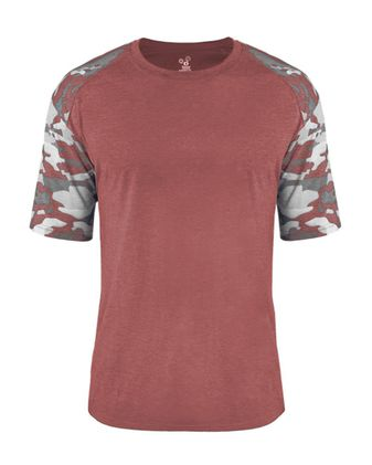 Badger Youth Camo Sport Triblend T-Shirt 2970
